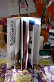 Live Your Art: Junk Mail Art Journal Tutorial