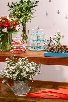 Festa. Águas de Março. Party. DIY. - by http://www.bacurifestas.com.br/