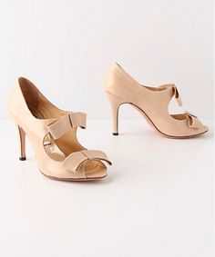 Anthropologie Juliana Patent Pump