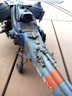 Crazy attack chopper model (#dieselpunk)