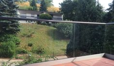 Montage, River, Glass, Outdoor, Terrace, Hand Railing, Stainless Steel, Outdoors