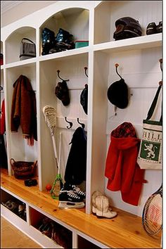 East Coast Creative: Mudroom Tour