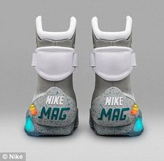 f91a1f9f61b Nike goes  back to the future  with a limited edition Nike Mag sneaker