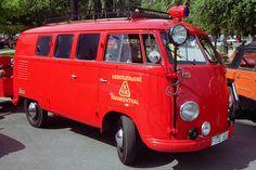 1955 VW Fire Truck (1) | 1955 Volkswagen Fire Truck, with pu… | Flickr