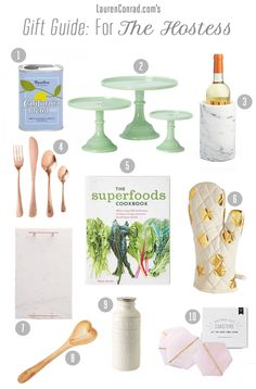 A gift guide for your favorite hostess this holiday season!