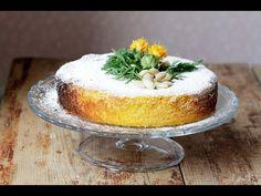 Výtečný dort s typickou, sladkou mrkvovou vůní. Je zdravý, přírodní a všem chutná! Gluten Free Cakes, Gluten Free Recipes, Sweet Carrot, Almond Cakes, Yummy Cakes, Vanilla Cake, Camembert Cheese, Panna Cotta, Carrots