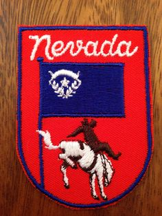 Nevada Vintage Travel Patch by Voyager by HeydayRetroMart on Etsy, $6.00