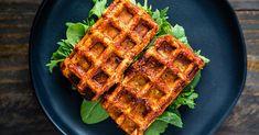 Barbecued Waffle Iron Tofu | Recipe from FatFree Vegan Kitchen