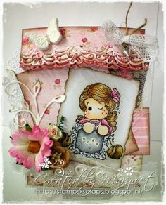 gift bag with write a message tilda Stamps - Scraps