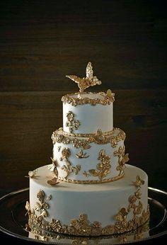 Elegant Wedding Cakes, Elegant Cakes, Beautiful Wedding Cakes, Gorgeous Cakes, Wedding Cake Designs, Pretty Cakes, Cute Cakes, Amazing Cakes, Best Wedding Cakes