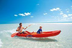 Kayak Australia Sea kayaking around Hervey Bay, Australia The water is breathtaking! Holiday Destinations, Amazing Destinations, Travel Destinations, Travel Tips, White Water Kayak, Wooden Kayak, Fraser Island, Kayak Adventures, Kayak Camping