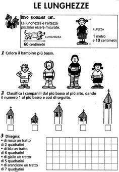 MATEMATICA :: Maestro-Cris Math Activities, 1, Education, Maths, Adele, Words, School, Geography, Learning Italian