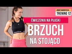 Trening 12: BRZUCH NA STOJĄCO 🔥 Wyzwanie METAMORFOZA 🔥 Monika Kołakowska - YouTube Fitness Tips, Youtube, Bra, Sports, Workouts, Hs Sports, Fitness Hacks, Bra Tops, Work Outs