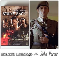 "Richard Armitage as John Porter in ""Strike Back"" (2010 / 2011)"