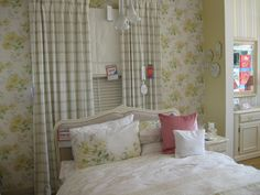 Taken at Laura Ashley shop - nice colour and pattern mixes