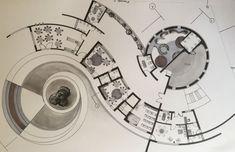kindergarten plan - Top Of The World Cultural Architecture, Sustainable Architecture, Architecture Plan, Residential Architecture, Circular Buildings, Architecture Concept Drawings, Kindergarten Design, Plan Design, Urban Planning