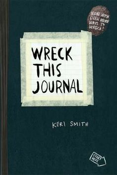 Wreck This Journal (Black) Expanded Ed. -  	     	              	Price: $  7.79             	View Available Formats (Prices May Vary)        	Buy It Now      The international bestseller…    For anyone who's ever had trouble starting, keeping, or finishing a journal or sketchbook comes this expanded edition of Wreck This Journal, an i...