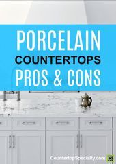 Kitchen Countertop Quartz Vs Granite Best Of Porcelain Countertops Pros & Cons Cost Of Countertops, Porcelain, Countertops, Granite Tile Countertops, Tile Countertops, Kitchen Remodel, Porcelain Countertops, Bathroom Countertops, Stainless Steel Countertops