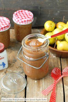 Slow Cooker Pennsylvania Dutch Spiced Apple Butter