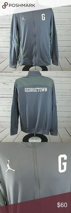 Nike Jordan Georgetown Jacket Warm-up L Dri-fit Nike Jordan Georgetown Jacket Warm-up L Dri-fit Nike Jackets & Coats
