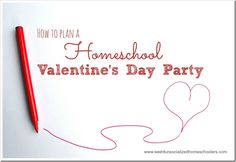 Planning a Valentine's Day party for your homeschool group doesn't have to be stressful. Try these tips for a fun, stress-free day.