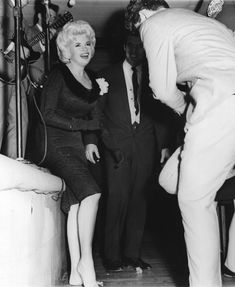 Jayne Mansfield Danced at the Peppermint Lounge