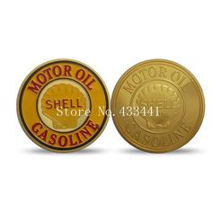 30*3mm Shell Oil Coins