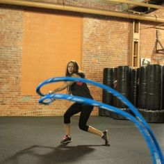 Ropes Gone Wild works every muscle, especially your core, while giving you a serious cardio workout.