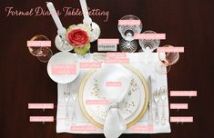 How to Set and Style a Place Setting: formal dinner