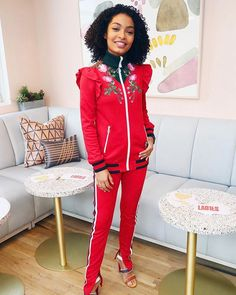 "@yarashahidi's embroidered @Gucci tracksuit is obviously chic but her message for and about young women is what we love the most. ""What's so cool about my generation is that being socially aware is ingrained in who we are"" she said yesterday at an event hosted by @fossil @girlsclubny and @The.Wing. ""It's almost as though we were born with a debt to society to do our part to be a part of this peer group that understands pretty immediately that whatever we do has to benefit the greater good of…"