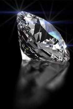 Beautiful loose diamond, cut to perfection