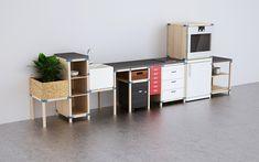 IKEA HACKA: Sistema para Muebles de Cocina Modulares