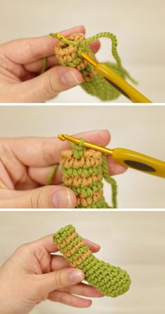 Crochet Tutorial: Joining rounds for perfect stripes (sidrun.spire.ee). This is one of the best ones out there!
