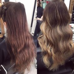 Before and after balayage on my client yesterday http://ift.tt/2zgqKlR