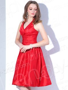 red dress knee length - Google Search