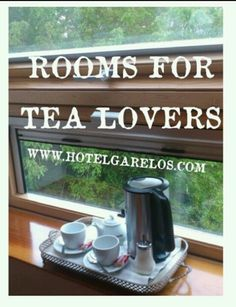For tea lovers: book your kettle for free al Hotel Garelos