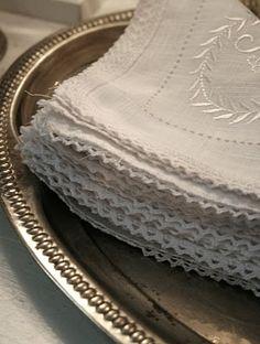 Betty´s torpliv Vintage linens