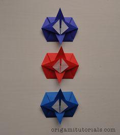 Origami Traditional Hexagonal Tato Tutorial | Origami Tutorials