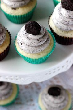 Cookies  Cream Cupcakes - Your Cup of Cake