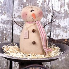 Another great find on Silas the Snowman Figurine Xmas Tree, Christmas Tree Ornaments, Christmas Decorations, Christmas Ideas, Christmas Projects, Sock Snowman, Snowman Crafts, Farmhouse Christmas Decor, Country Christmas