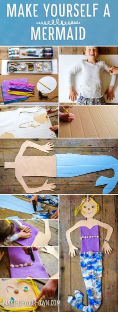 Make Yourself a Mermaid!  Extend Body Tracing to make yourself into a giant mermaid! Smaller scale, use photo.