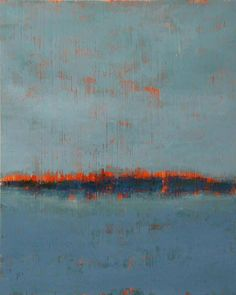 Cold wax painting | Abstraction in the Landscape | Pinterest