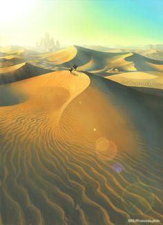 砂漠 by cocoon