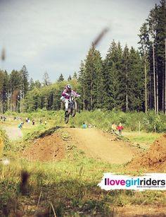 Downhill=my sport. My bike=my love - Rider: Ivona Bilandzic - Photo: Daniel Huemer - #ilovegirlriders #iamagirlrider