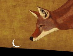 Fuchs Illustration, Inspiration Artistique, Fox Drawing, Ghost In The Machine, Fox Art, Italian Artist, Woodland Creatures, Collages, Moose Art