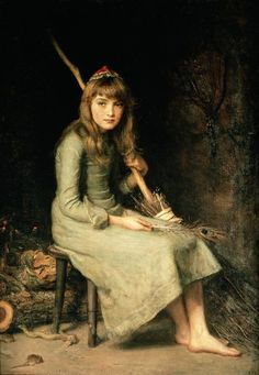 John Everett Millais (1829–1896), Cinderella (1881