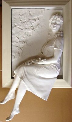 Bill Mack / Hermann Hesse ~ Tienimi per mano al tramonto. Clay Wall Art, Mural Wall Art, Clay Art, Sculptures Céramiques, Art Sculpture, Plaster Art, Paperclay, Wood Carving, Ceramic Art