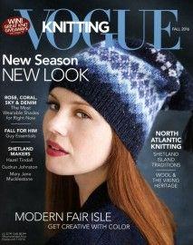 Vogue Knitting Fall 2016