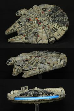 Millennium Falcon More Star Wars Quilt, Lego Star Wars, Star Trek, Star Wars Facts, Star Wars Humor, Milenium Falcon, Nave Star Wars, Star Wars Painting, Star Wars Spaceships