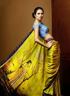 Indian Art Saree